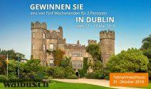 5 x Dublin Weekend zu zweit gewinnen