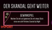 8 x Scandal by Night Parfum gewinnen