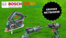 Bosch Power Tools im Wert von CHF 5'000.- gewinnen