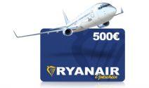 CHF 560.- Ryanair Gutschein gewinnen