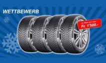 Continental Reifen im Wert von CHF 1'500.- gewinnen
