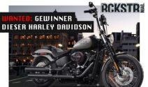 Harley Davidson Street Bob gewinnen