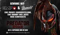 Private Kinovorstelolung, Brandit Jacke oder Predator Tickets gewinnen