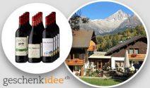 Wein Wochenende in Wallis sowie ein Weinpaket gewinnen