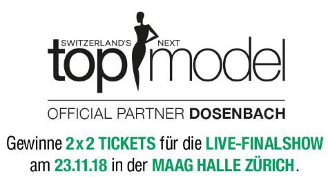 2 Tickets für Switzerland's Top Model Live-Finalshow gewinnen