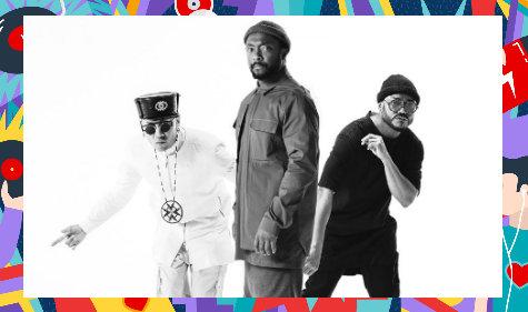 2 Tickets fürs Black Eyed Peas Konzert gewinnen