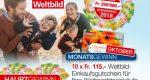 CHF 115.- Weltbild Gutschein und Bargeld gewinnen