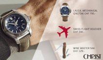Eine Victorinox Uhr und noch vieles mehr gewinnen