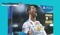 PS4 Slim inkl. FIFA 18 Spiel gewinnen