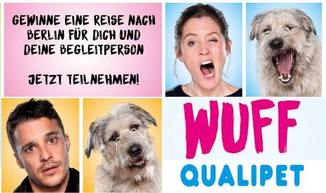 Reise nach Berlin und WUFF Kinotickets gewinnen