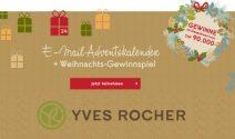 Adventspreise im Wert von CHF 90000.- bei Yves Rocher