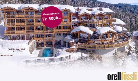 Romantisches Wochenende in LeCrans Hotel & Spa in Crans-Montana gewinnen
