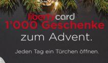 Täglich tolle Geschenke von LibertyCard zum Advent gewinnen