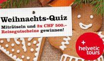3x einen Helvetic Tours Gutschein im Wert von je CHF 500.- gewinnen