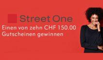 Street One Gutschein im Wert von CHF 150.- gewinnen
