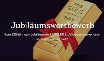1kg Gold im Gesamtwert von ca. CHF 38'000.- gewinnen