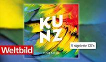 """5x eine signierte CD von KUNZ """"Förschi"""" gewinnen"""