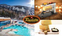 Wellnessferien für die ganze Familie, Raclette-Ofen und mehr gewinnen