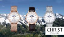 4x eine CHRIST Swiss Made Uhr im Wert von je CHF 259.- gewinnen