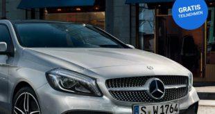Die neue Mercedes A-Klasse gewinnen