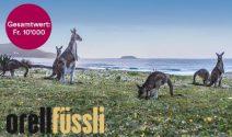 Eine Reise nach Australien für 2 Personen im Wert von CHF 10'000.- gewinnen