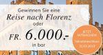 Eine Reise nach Florenz oder CHF 6'000.- in bar gewinnen