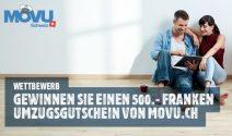 Einen Movu.ch Gutschein im Wert von CHF 500.- gewinnen