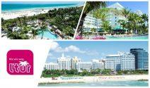 Ferien in Miami für 2 Personen inkl. Flug & Hotel gewinnen