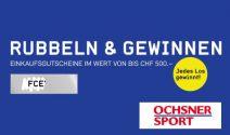 Ochsner Sport Gutschein im Wert von CHF 500.- und mehr gewinnen