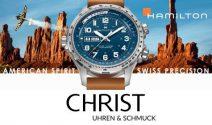 Eine Hamilton Uhr im Wert von CHF 1'075.– gewinnen