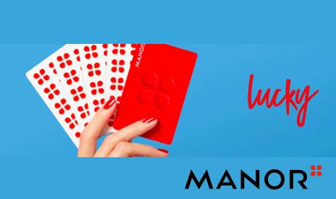 Jeden Monat einen Manor Gutschein im Wert von CHF 200.- gewinnen