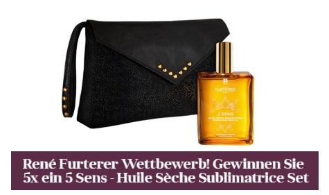 5x ein Kosmetik-Set von René Furterer gewinnen
