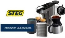 Sonos Play Set, Amazon Echo Plus Lautsprecher oder Philips Kaffeemaschine gewinnen