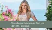 Einen Alpenclassics Gutschein im Wert von CHF 200.- gewinnen