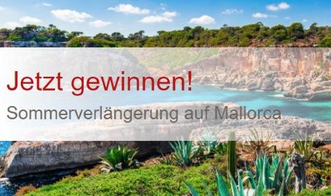 Ferien auf Mallorca für 2 Personen gewinnen