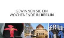 Ein Wochenende in Berlin gewinnen