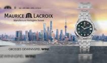 Eine Maurice Lacroix AIKON AUTOMATIK Uhr im Wert von CHF 1'950.- gewinnen