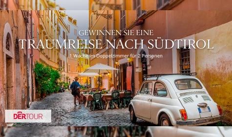 Romantische Reise nach Südtirol gewinnen