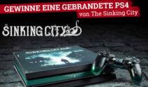 """Sony Playstation 4 im Branding des Spiels """"The Sinking City"""" gewinnen"""