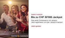 Einen Jackpot im Wert von CHF 50'000.- gewinnen
