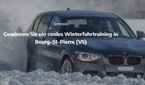 Ein Winterfahrtraining in Bourg-St-Pierre gewinnen