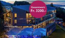 Eine Übernachtung im Superior Hotel Belvoir in Rüschlikon gewinnen