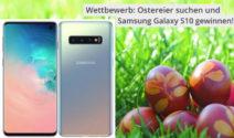 Ein Samsung Galaxy S10 bei Hausinfo gewinnen