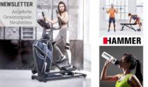 Tolle Preise bei HAMMER Fitness gewinnen