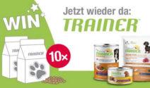 10 x Trainer Futterpakete im Wert von je CHF 100.– bei Qualipet gewinnen!