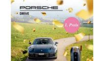 Eine Fahrt mit Lieblings-Porsche bei HAAR Produkte gewinnen