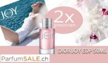 2 x Dior Joy Eau de Parfum 50ml bei Parfum SALE gewinnen!
