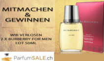 Burberry for Men Eau de Toilette 50ml bei ParfumSALE gewinnen!