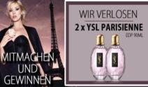 2 x YSL Parisienne EdP 90ml. bei ParfumSALE gewinnen!