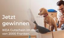 CHF 2000.- IKEA Gutschein gewinnen!